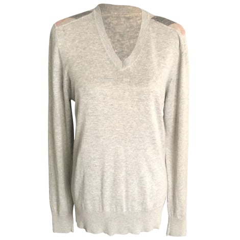 Pull BURBERRY Gris, anthracite