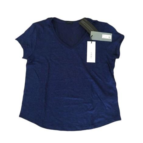 Top, tee-shirt IKKS Bleu, bleu marine, bleu turquoise