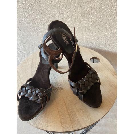 Sandales à talons ERAM Marron