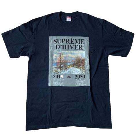 Top, tee-shirt SUPREME Noir