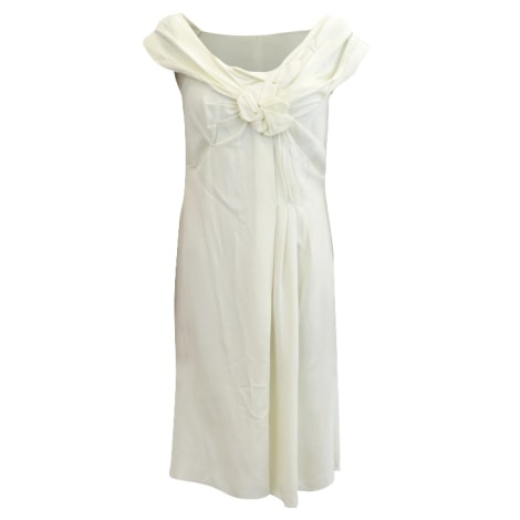 Robe courte PRADA Beige, camel