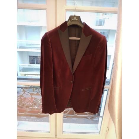 Veste de costume LOUIS PURPLE Rouge, bordeaux