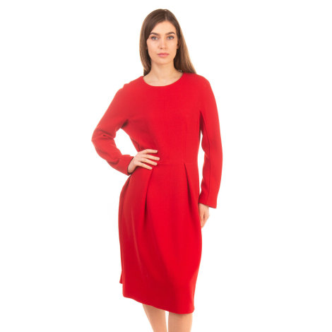 Robe mi-longue MARELLA Rouge, bordeaux