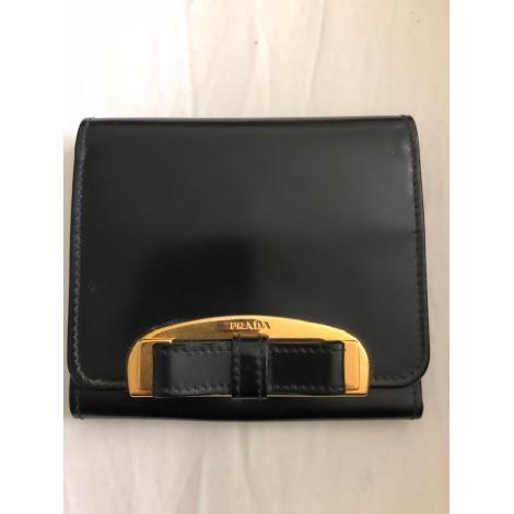 Porte-monnaie PRADA Noir