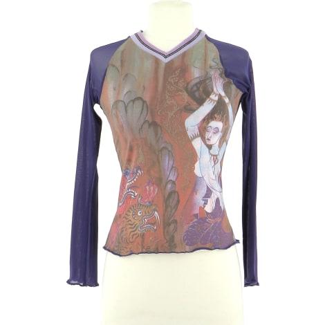 Top, tee-shirt CUSTO BARCELONA Violet, mauve, lavande