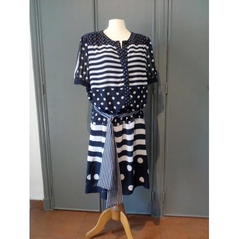 Robe courte WEILL Bleu, bleu marine, bleu turquoise