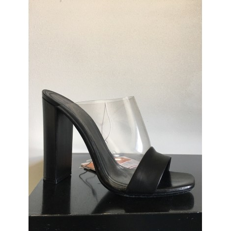 Sandales à talons CÉLINE Noir