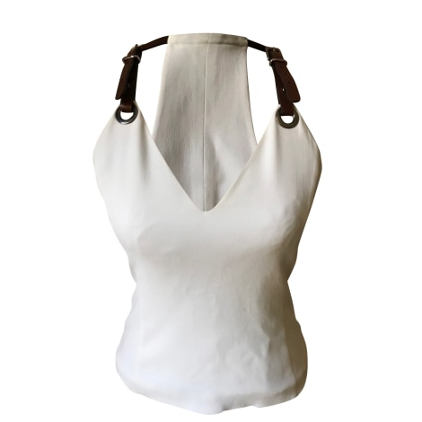 Top, tee-shirt BARBARA BUI Blanc, blanc cassé, écru