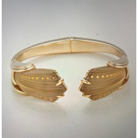Bracelet LALIQUE Doré, bronze, cuivre