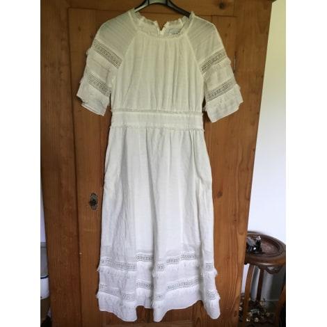 Robe longue & OTHER STORIES Blanc, blanc cassé, écru