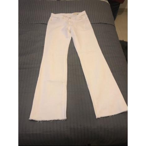Pantalon évasé ESPRIT Blanc, blanc cassé, écru
