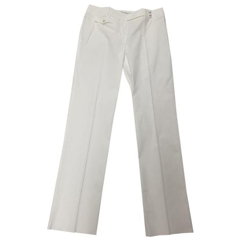 Pantalon large MARELLA Blanc, blanc cassé, écru