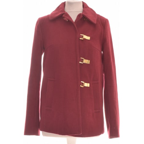 Manteau H&M Rouge, bordeaux