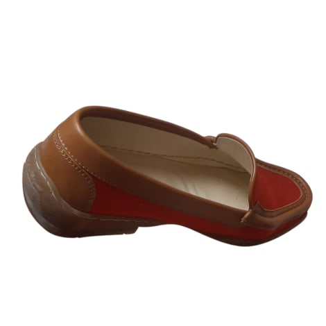 Mocassins SALVATORE FERRAGAMO Rouge, bordeaux