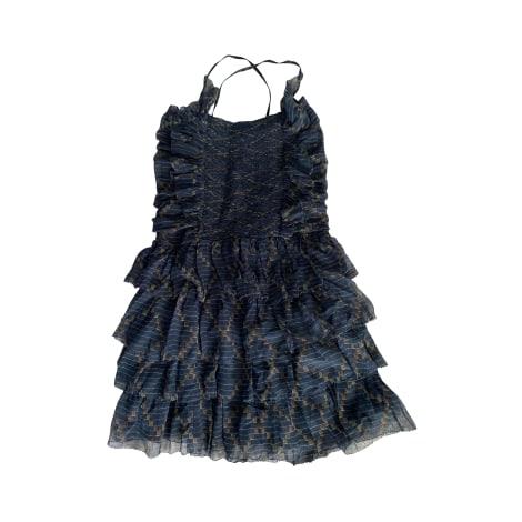 Robe courte ISABEL MARANT ETOILE Bleu, bleu marine, bleu turquoise