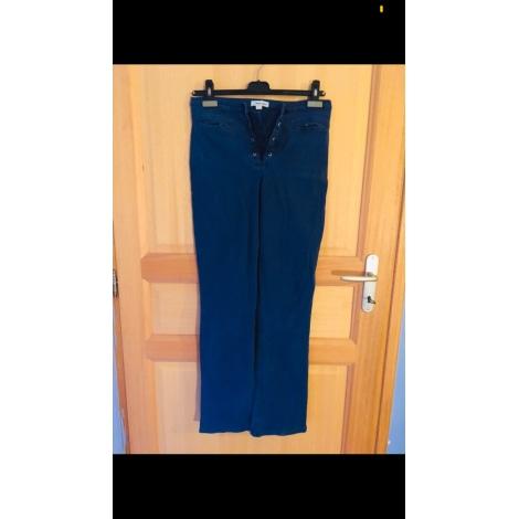 Pantalon évasé NAF NAF Bleu, bleu marine, bleu turquoise