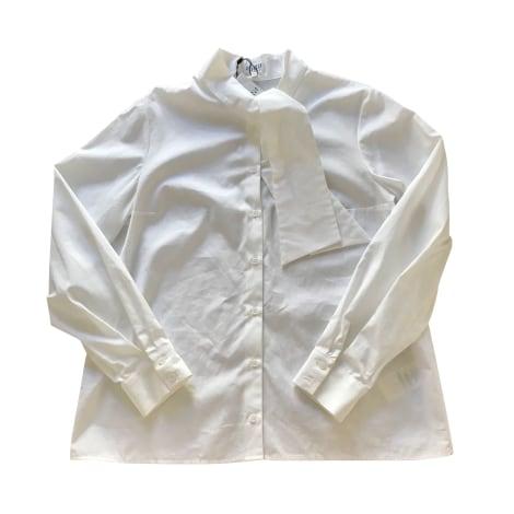Chemise CLAUDIE PIERLOT Blanc, blanc cassé, écru