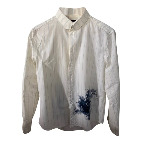 Shirt LOUIS VUITTON White, off-white, ecru