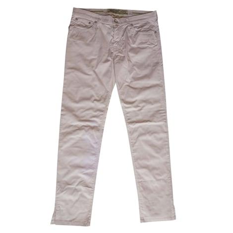 Jeans slim JACOB COHEN Rose, fuschia, vieux rose