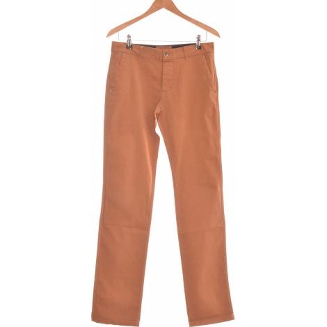 Pantalon droit DEVRED Marron