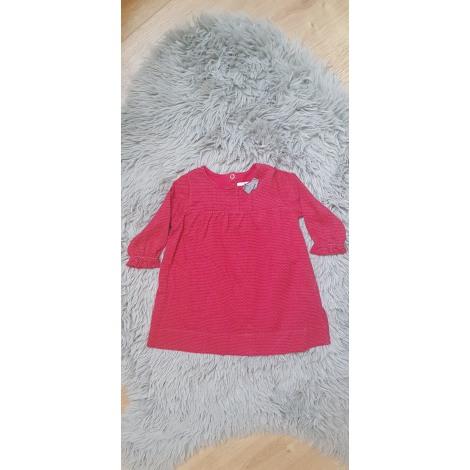 Robe PETIT BATEAU Rouge, bordeaux