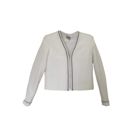 Blazer CLAUDIE PIERLOT White, off-white, ecru