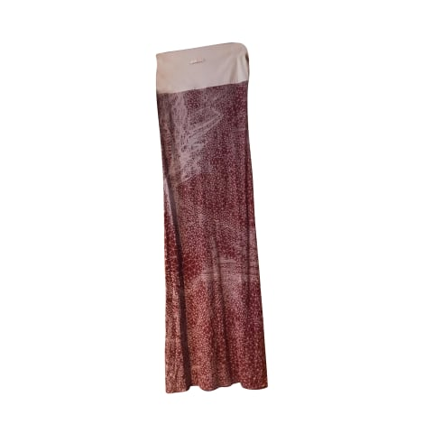 Maxi Dress JEAN PAUL GAULTIER Red, burgundy