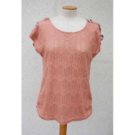 Top, tee-shirt MOLLY BRACKEN Rose, fuschia, vieux rose