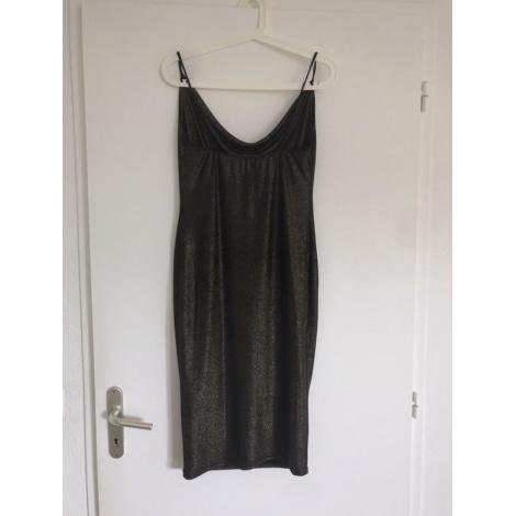 Robe mi-longue MOLLY BRACKEN Noir