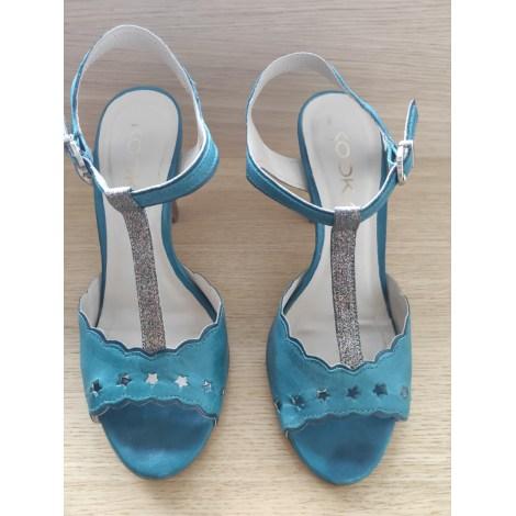 Sandales à talons KOOKAI Argenté, acier