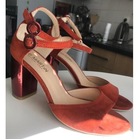 Sandales à talons JB MARTIN Orange
