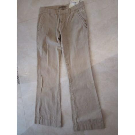 Pantalon évasé ROXY Beige, camel