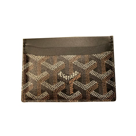 Card Case GOYARD Black