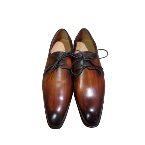 Lace Up Shoes CARLOS SANTOS Brown