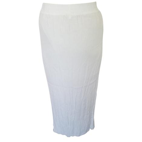 Maxi Skirt MAJE White, off-white, ecru