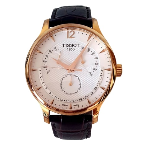 Wrist Watch TISSOT Brown