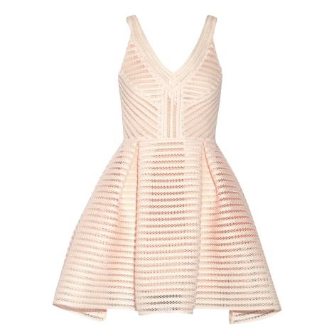 Mini Dress MAJE Rose-pêche pastelle