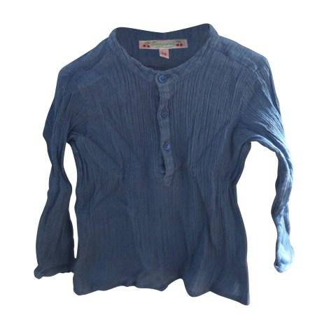 Chemise BONPOINT Bleu, bleu marine, bleu turquoise