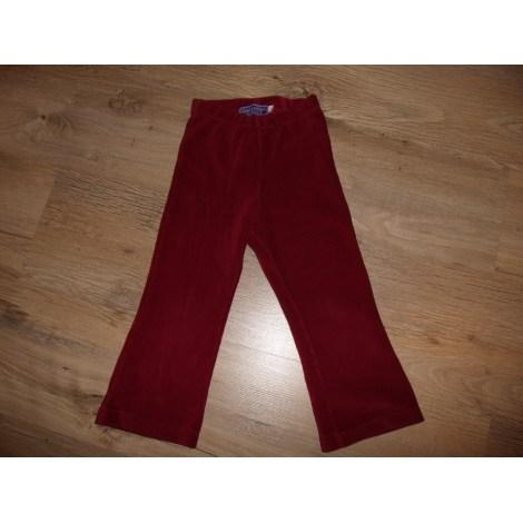 Pantalon ORCHESTRA Rouge, bordeaux