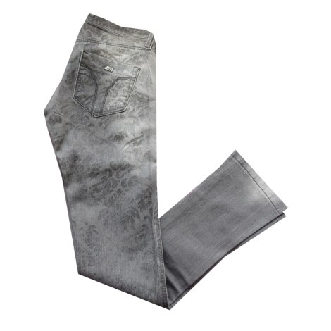 Pantalon slim, cigarette MISS SIXTY Gris, anthracite