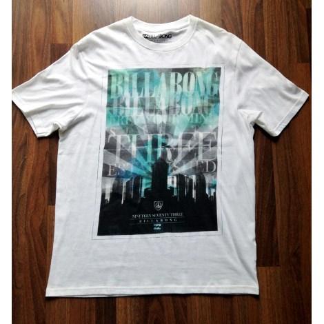 Tee-shirt BILLABONG Blanc, blanc cassé, écru