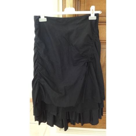 Jupe mi-longue IKKS Noir