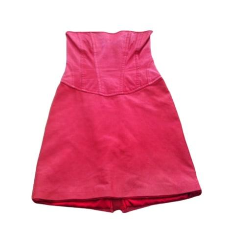 Robe bustier PINKO Rouge, bordeaux