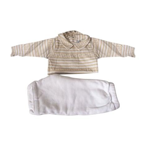 Ensemble & Combinaison pantalon BABY DIOR Doré, bronze, cuivre