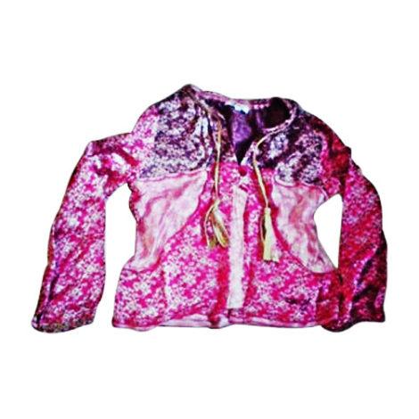 Top, Tee-shirt DKNY Rose, fuschia, vieux rose