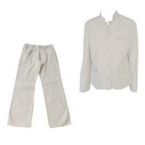 Tailleur pantalon MARKS & SPENCER Beige, camel