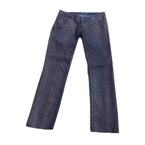 Jeans droit TOMMY HILFIGER Doré, bronze, cuivre