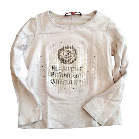 Top, Tee-shirt MARITHÉ ET FRANÇOIS GIRBAUD Gris, anthracite