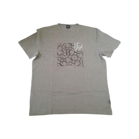 Tee-shirt HUGO BOSS Beige, camel
