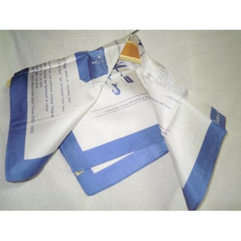 Foulard INÈS DE LA FRESSANGE Bleu, bleu marine, bleu turquoise
